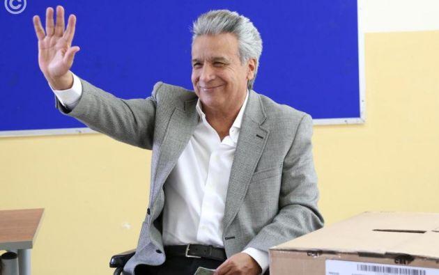 El presidente Lenín Moreno ofreció este lunes gobernar con todos los funcionarios que resultaron elegidos este domingo en los comicios locales. Foto: Presidencia.