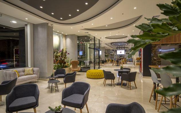 El hotel IBIS Quito abrió sus puertas en enero pasado para un segmento de turistas de alto potencial.  Foto cortesía Ecuaresorts