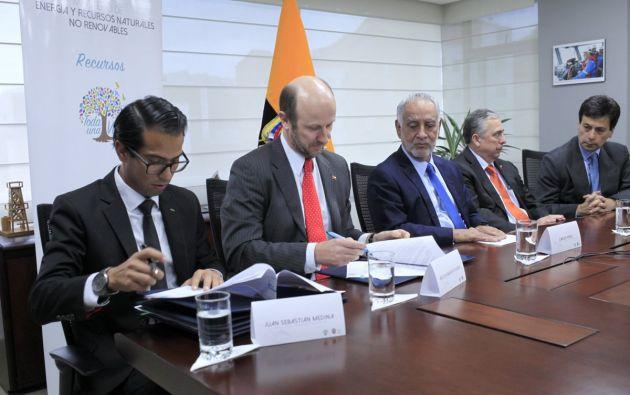 La Empresa Nacional Minera de Ecuador (Enami) y la Corporación Nacional de Cobre de Chile (Codelco) firmaron un acuerdo complementario (adenda) al proyecto minero Llurimagua en la provincia de Imbabura.