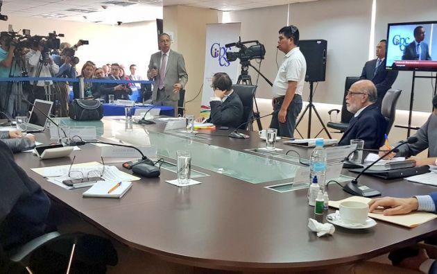 El organismo convocó para las 15H00 de hoy a sus consejeros. Foto: CPCCS