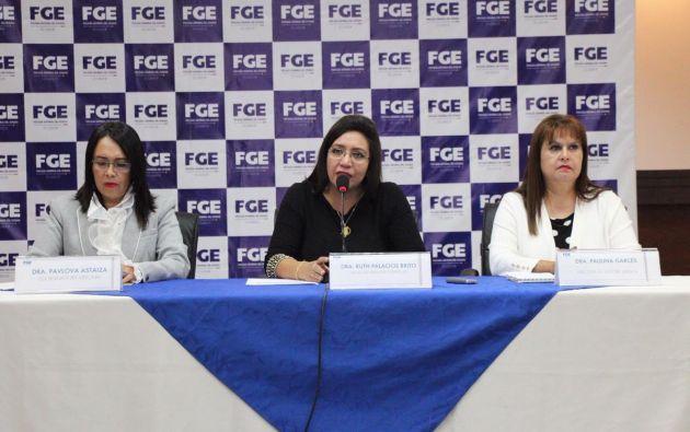 La fiscal deja 13 investigaciones en contra del expresidente Rafael Correa. Foto: Fiscalía