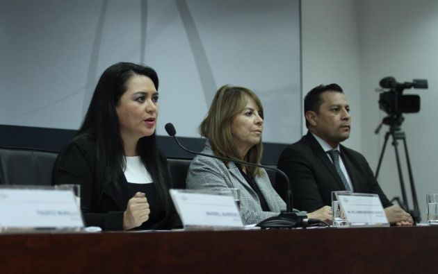 La presidenta del CJ explicó que el proceso de la carrera fiscal le tomará de 3 o 4 meses. Foto: Twitter @CJudicaturaEc