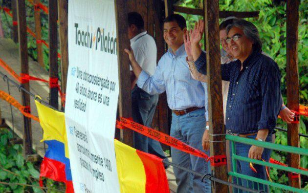 Según el CPCCS, por el proyecto Toachi Pilatón, al no estar en funcionamiento, Ecuador pierde $ 3.6 millones al mes.
