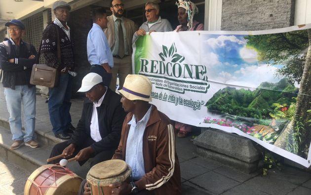 Según la Defensoría del Pueblo durante 8 años se han incumplido las medidas cautelares que prohíben la minería en ciertas zonas de Esmeraldas. Foto: Twitter.