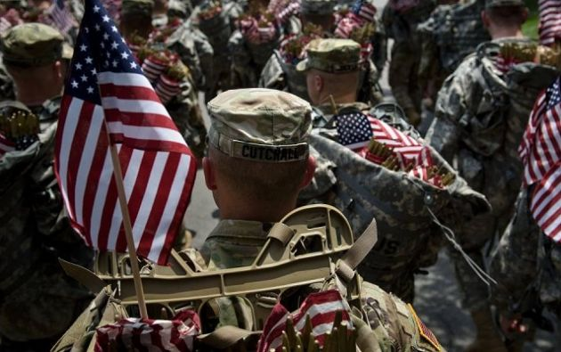 El Pentágono estima que 9.000 personas que se identificaron como transexuales sirven en el ejército. Foto: AFP