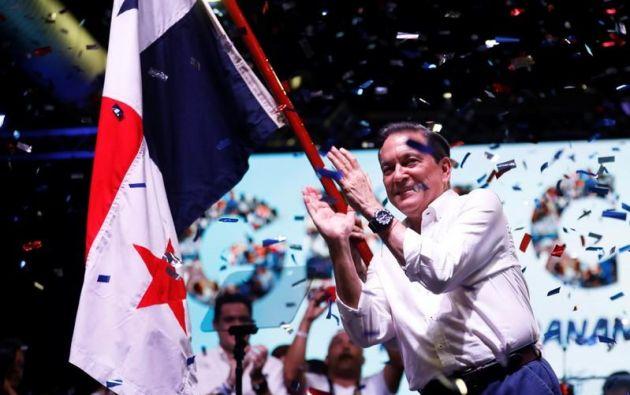 """Cortizo repite con insistencia que va a """"rescatar y transformar a Panamá"""". Foto: Reuters"""
