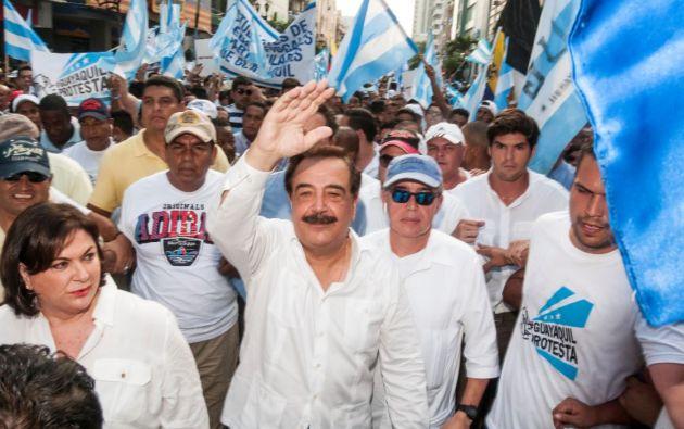 Nebot dejará definitivamente la Alcaldía de Guayaquil este 14 de mayo, tras posesionar a Cynthia Viteri.