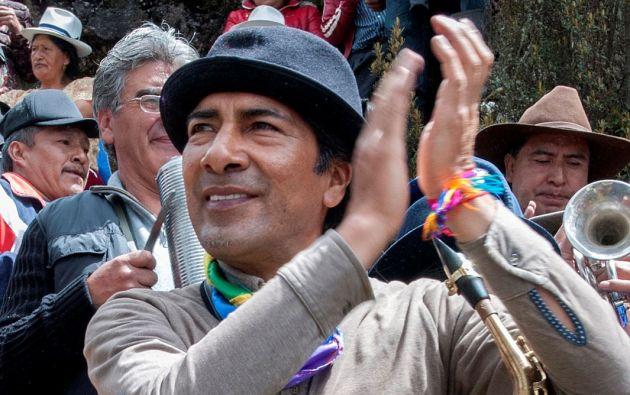 Yaku Pérez Guartambel es el primer prefecto kañari del Azuay.