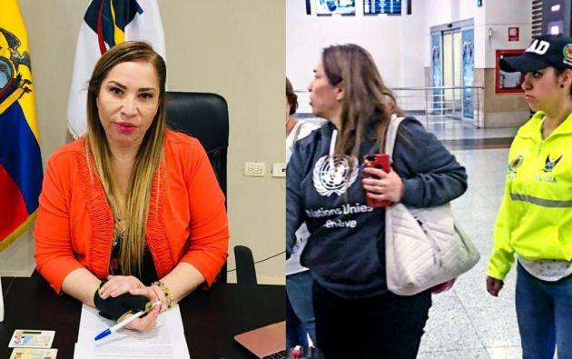Pamela Martínez fue detenida el pasado 5 de mayo cuando intentaba dejar el país.