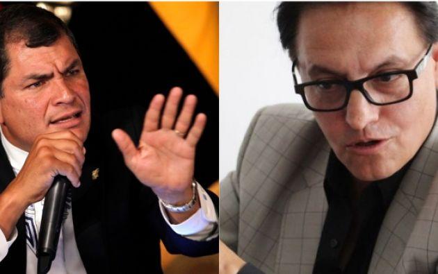 """Según el periodista y activista político, el sistema de """"Arroz Verde"""" se gestó en el despacho presidencial de Correa."""