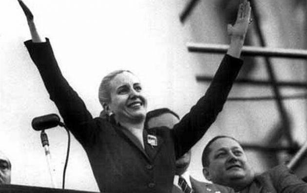 La ex primera dama argentina, Eva Perón, y su esposo, el expresidente Juan Domingo Perón, fueron los líderes fundacionales en los años cuarenta del peronismo.