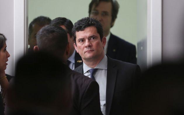 Moro condenó a Lula a nueve años y seis meses de prisión por corrupción pasiva y lavado de dinero. Foto: AFP