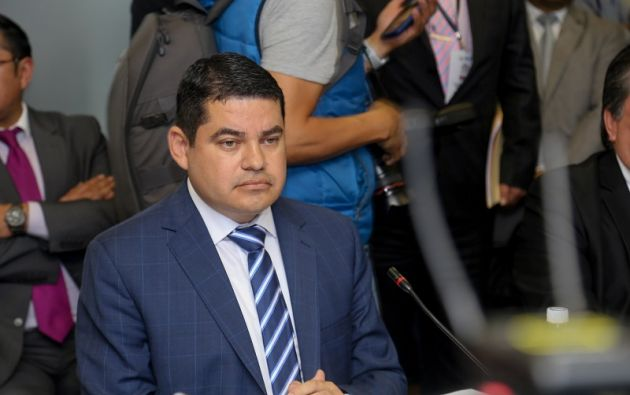 """""""El presidente del CPPCS carece de la probidad necesaria para ejercer las funciones de transparencia"""", dijo Villamar."""