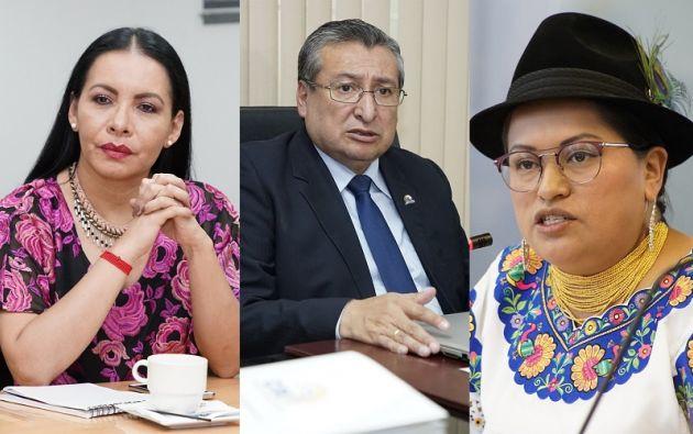 Diana Atamaint, José Cabrera y Esthela Acero.