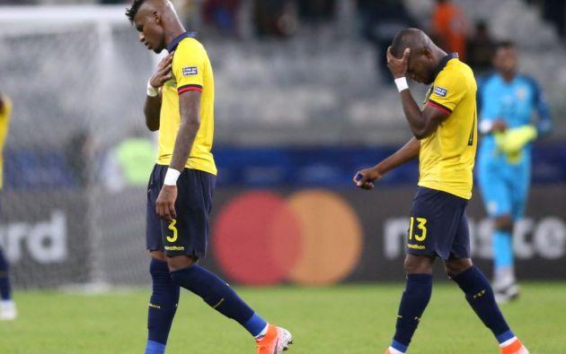 El día que Ecuador empató 1-1 contra Japón en la Copa América 2019. Foto: Reuters.