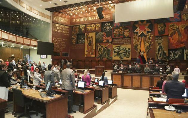 El Pleno de la Asamblea debatirá el proyecto de Ley para Prevenir y Erradicar el Microtráfico de Sustancias Estupefacientes y Psicotrópicas. Foto: Asamblea Nacional.