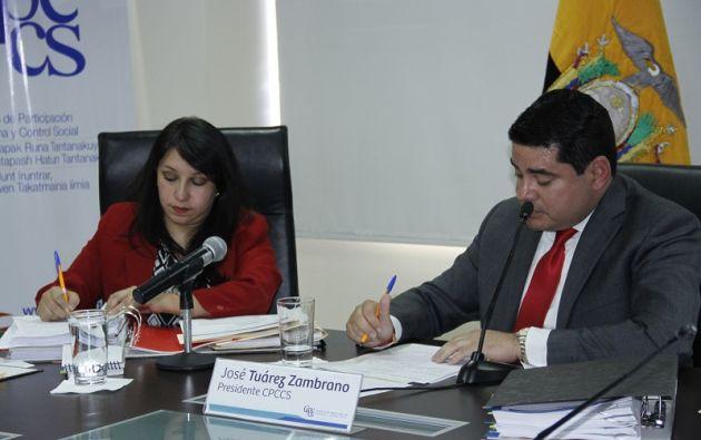 Según Tuárez, jamás ha desconocido la facultad del Legislativo de fiscalizar a las autoridades dentro de sus funciones.