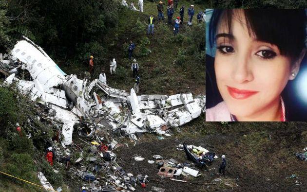 Suárez, madre soltera de dos niños, viajaba como azafata en el pequeño avión Avro RJ85 de LaMia que se estrelló en Colombia en 2016.