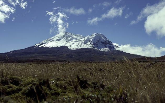 La reserva ecológica Antisana, declarada así en 1993, se extiende sobre 120.000 hectáreas con rangos de altitudes entre 1.400 y 5.758 metros.