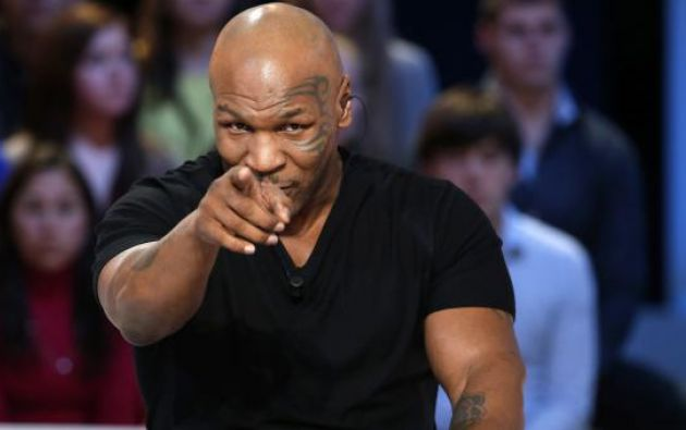 """Tyson respondió que la solución era el """"whizzinator"""". Foto: AFP"""