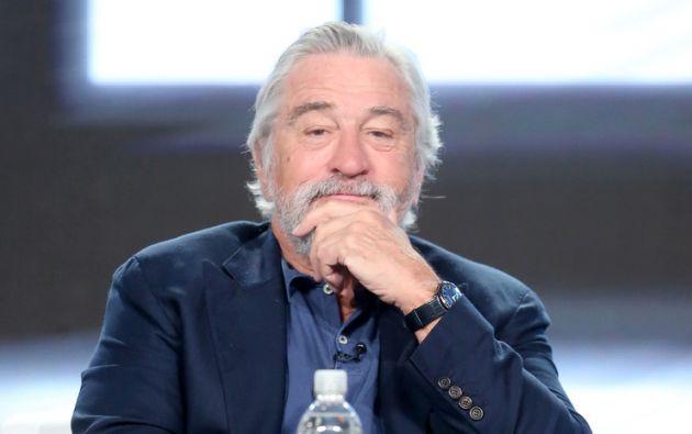 Robinson fue contratada como asistente de De Niro en 2008. Foto: AFP