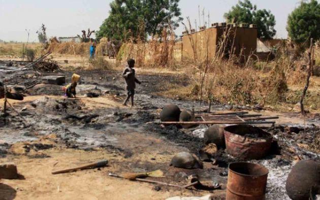 La mayoría de los menores son encarcelados en un centro de detención en Maidaguri en condiciones infrahumanas según HRW. Foto: AFP.