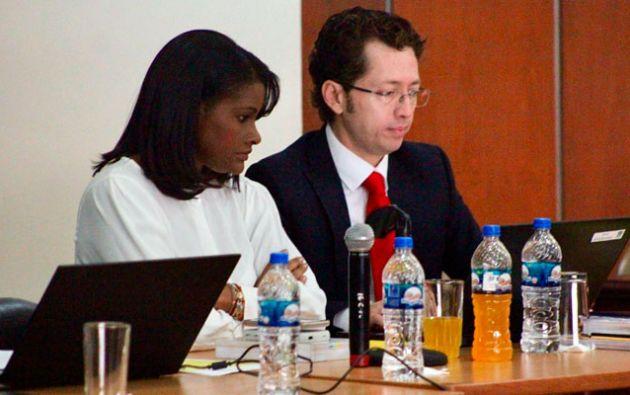 Salazar solicitó a la jueza que señale día y hora para la audiencia de evaluación y preparatoria de juicio.