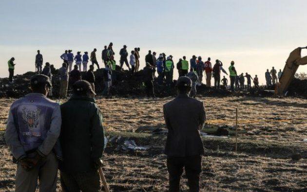 Los 157 fallecidos pertenecían a 35 nacionalidades, entre las principales están Kenia, Etiopía y Canadá. Foto: AFP.
