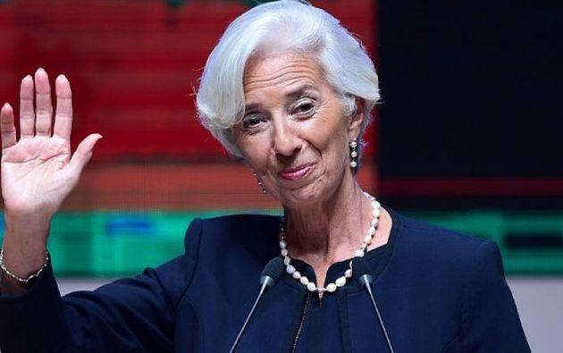 La decisión del Parlamento Europeo constituye una recomendación, la asignación definitiva de Lagarde se establecerá durante el Consejo Europeo. Foto: AFP.