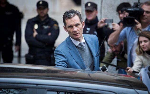 El caso de Iñaki Urdangarin causó un fuerte daño a la imagen de la monarquía española. Foto: AFP.