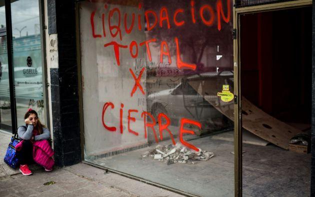 La tercera economía de América latina está en recesión con 32% de pobreza, 10% de desempleo y la inflación de 2019 acumulada a agosto en 30%. Foto: AFP.