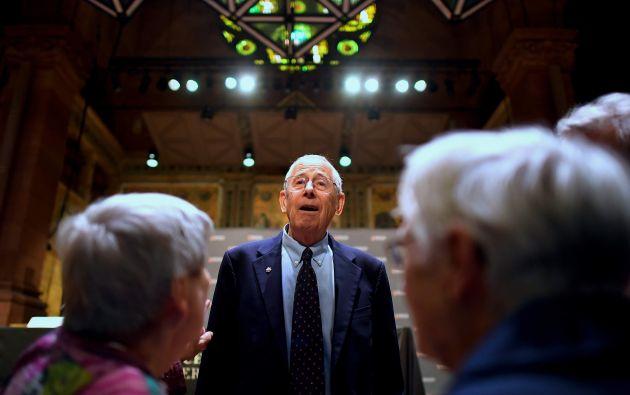 James Peebles es considerado el fundador de la comprensión moderna de la historia del universo. Foto: AFP.