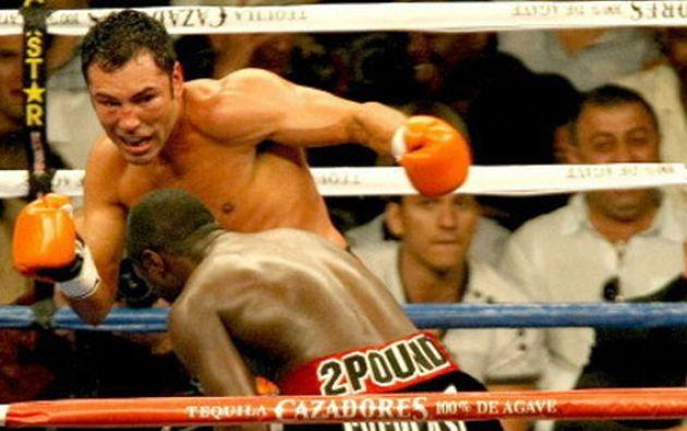 El excampeón mundial de boxeo Oscar de la Hoya habría agredido sexualmente a una mujer en California en el año 2017.