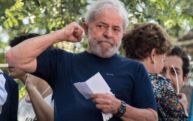 Lula se encontraba entre rejas desde el 7 de abril de 2018. Foto: AFP