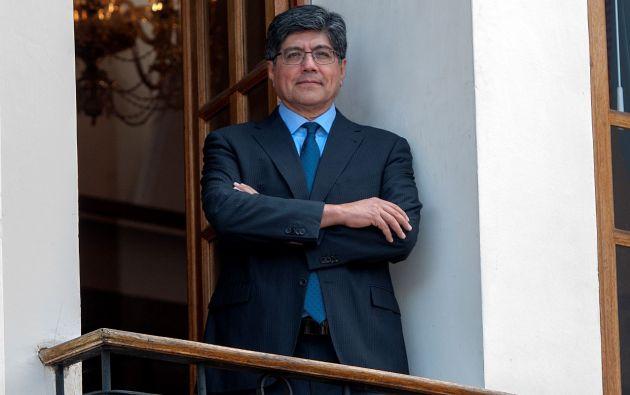 José Valencia Amores, diplomático de carrera y catedrático universitario, actual canciller de Ecuador.