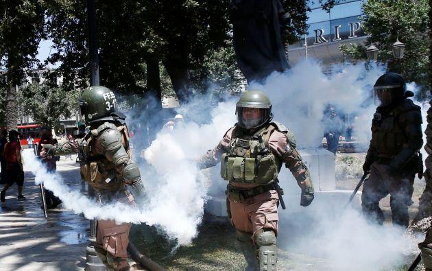 """Las protestas han dejado 26 muertos, de los que al menos 5 fallecieron por """"acción directa"""" de agentes y 2 bajo custodia del Estado. Foto: Reuters."""