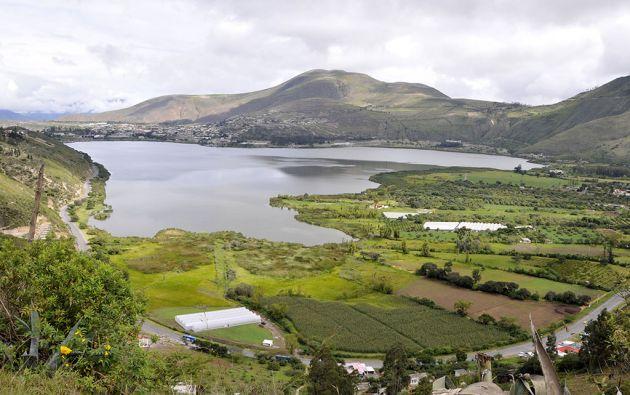 Laguna de Yahuarcocha. Foto: Archivo Revista Vistazo