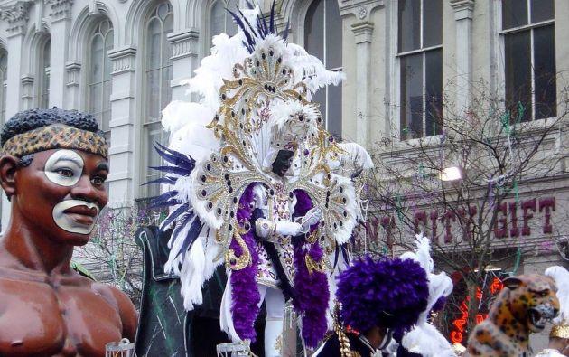 1.- El Mardi Gras de Nueva Orleans
