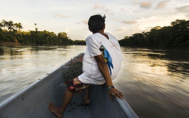 La vida de los habitantes de Sucumbíos también gira alrededor de los ríos. De ellos obtienen muchas especies que forman parte del menú amazónico.