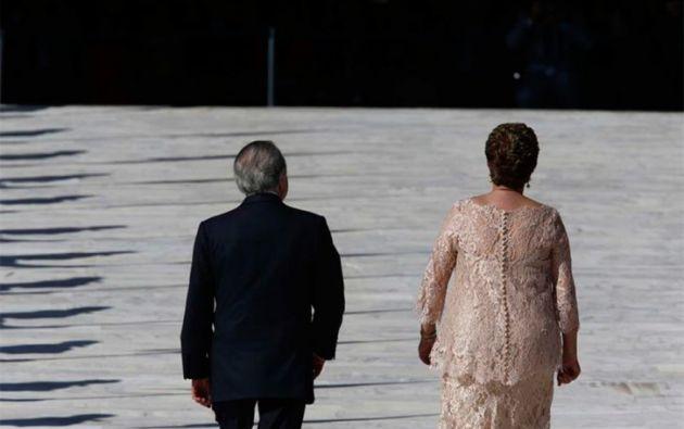 El Senado brasileño aprobó por 55 votos contra 22 la apertura de un juicio político a Rousseff, que será apartada del cargo durante los 180 días que se tomará la Cámara Alta para analizar el proceso. REUTERS