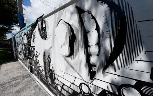 """""""Wynwood Walls ha sido un lugar formidable para el arte"""", dice el muralista Chaz, de 41 años."""