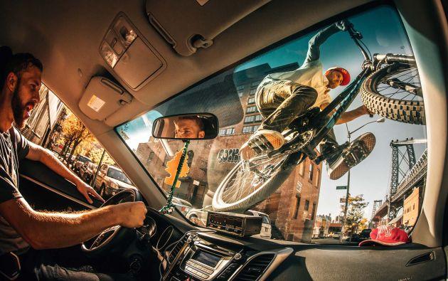 Atleta: Aaron Chase, Brooklyn, NY, Estados Unidos. Ganador de la categoría Creatividad. Fotógrafo: Ale Di Lullo
