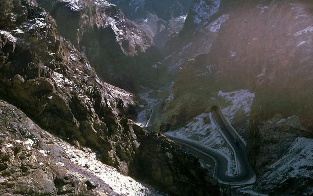 Carreteras de Kabul