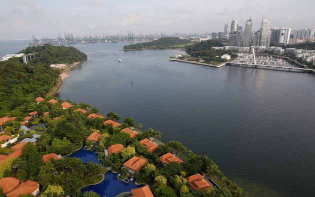 Isla resort de Sentosa en Singapur