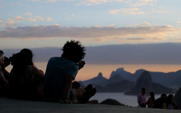 El horizonte de Río de Janeiro