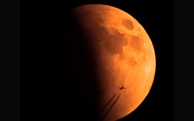 Superluna de sangre // fotógrafo Casey Davis // 2015