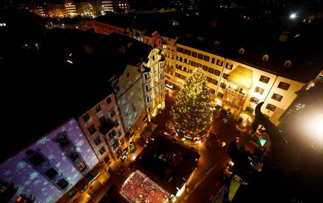 Mercado de Navidad en Innsbruck, Austria