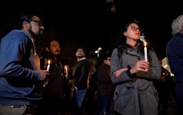 Familiares y colegas de los periodistas secuestrados en la frontera con Colombia