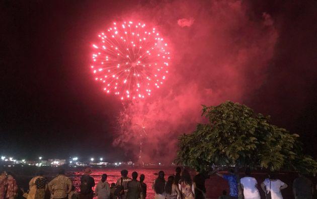 Fin de Año en Samoa. Foto: @Desiderium5 Twitter