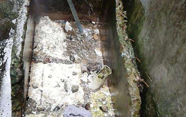 El gobierno anterior nunca dijo que la cárcel de Latacunga tiene serios problemas de agua potable.